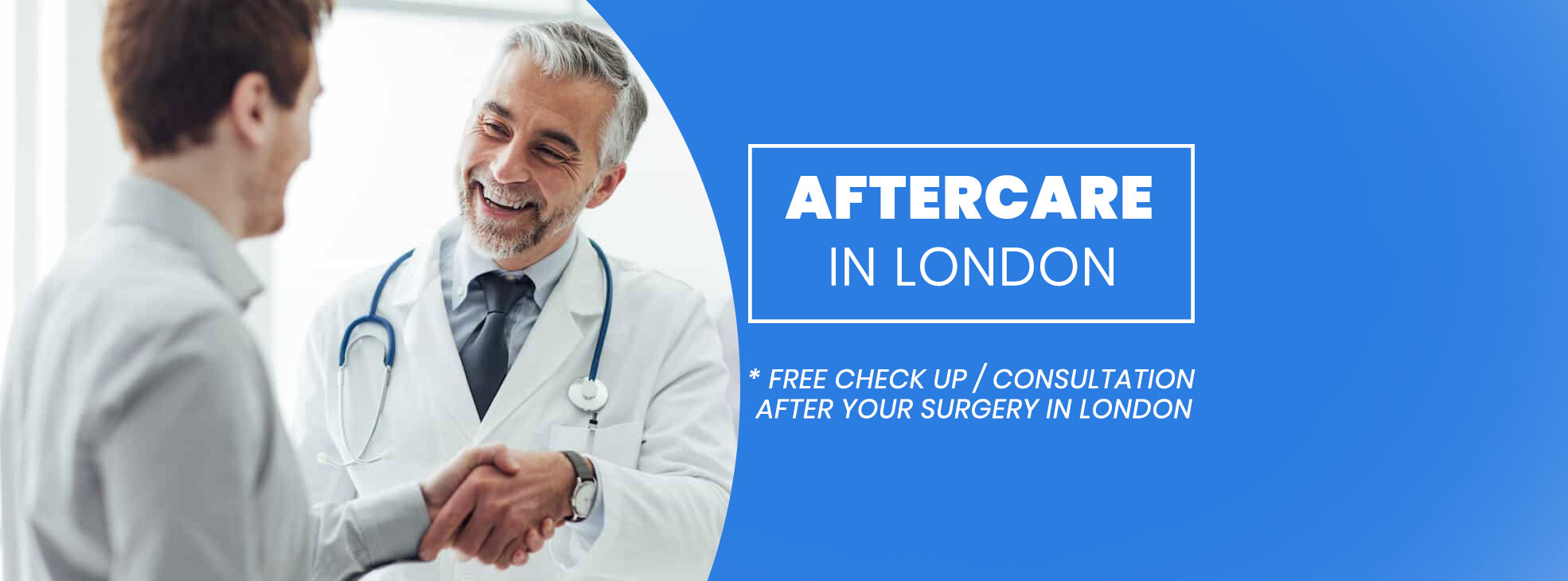 Aftercare in London Clinic Center