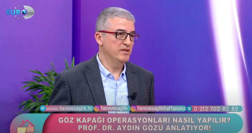 Dr Aydin Gozu on TV