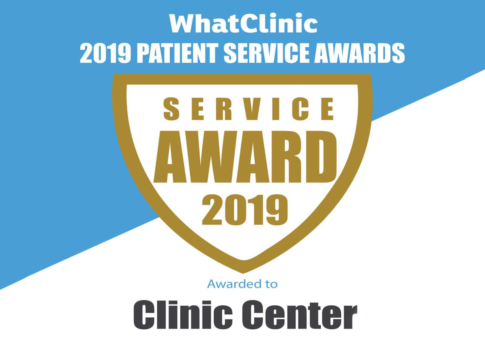 What Clinic 2019 Patient Service Awards